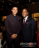 Trevor Noah and NAACP Chair