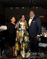 TD Jakes, Wife (left) and NAACP Chair ob BOD Roslyn Brock