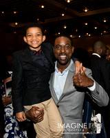 This is Us Cast Members - Sterling K. Brown and Lonnie Chavis
